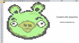 ABAP2XLS - Angry Birds
