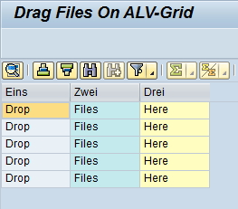 drag files in grid