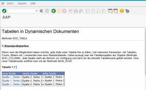 SAP Blue Crystal Design - HTML