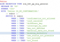 Switch für Ausnahmen eines Funktionsbausteins [ABAP740]