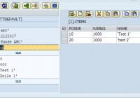 ECATT Datencontainer nutzen