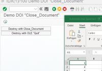OLE-Handle zu DOI-Objekt ermitteln