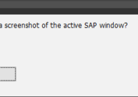 Screenshot zur Fehlermeldung erstellen